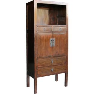 Original Brown Display Cabinet
