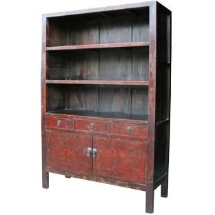 Original Red Large Book Case