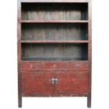Original Red Large Book Case