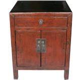 Original Red Bedside Table