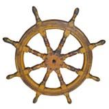Original Ship Steering Wheel