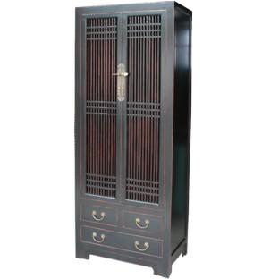 Black Chinese Kitchen Cabinet