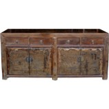 Original Brown Chinese Sideboard