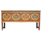 Large Tibetan Console Table