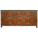 Large Tibetan Sideboard