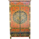 Large Tibetan Wedding Cabinet