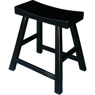 Black Elm Farmer Stool