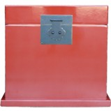 Red Lacquered Chinese Chest