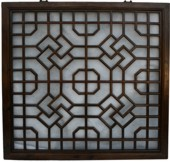 Chinese Square Wall Hanging Screen/Window Shutter