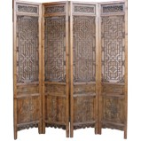 Set 4 Chinese Double Sided Screen Room Divider