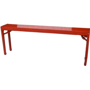 Original Red Chinese Console Table