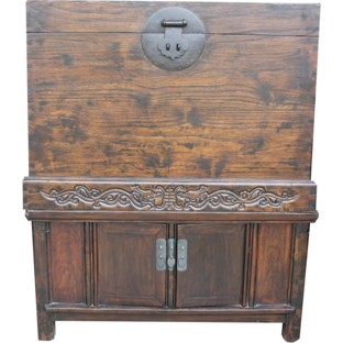 Original Compound Brown Chest Cabinet