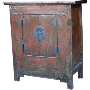 Original Red Medium Cabinet
