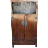Original Brown Display Cabinet