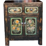 Original Black Painted Cabinet