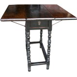 Foldable Square Dining Table