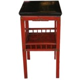 Original Red Vase Table