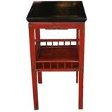 Original Red Vase Table