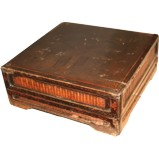 Antique Rectangular Wood Decor Box