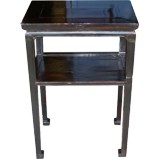 Original Rectangular Brown Tea Table