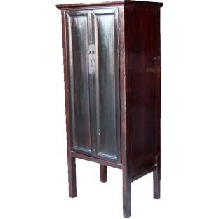 Black Slim Tapered Cabinet