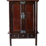Huge Original Brown Cabinet