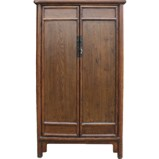 Country Style Tapered Wood Cabinet