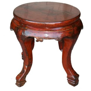 Original Round Stool Side Table