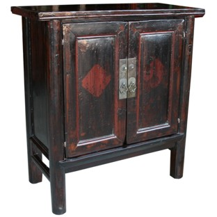 Original Brown Chinese Cabinet