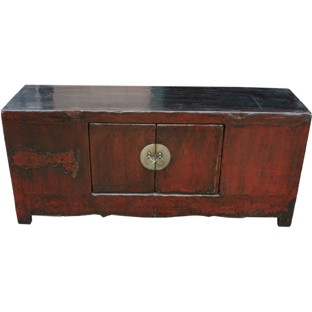 Original Red Low Sideboard