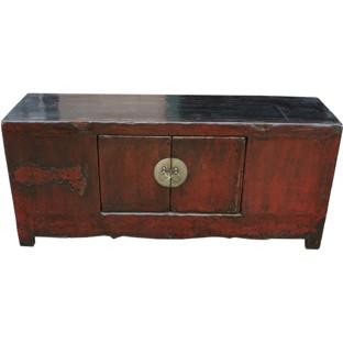 Original Red Low Sideboard