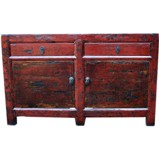 Original Two Door Two Drawer Sideboard