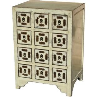 Beige Chinese Medicine Cabinet