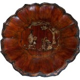 Chinese Gold Painted Plate