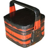 Black and Red Lacquer Food Box
