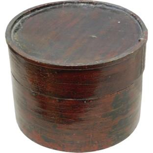Red Round Decorative Box