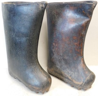 Antique Leather Water Boots