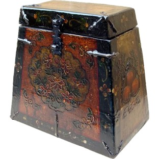 Decorative Painted Tibetan Box