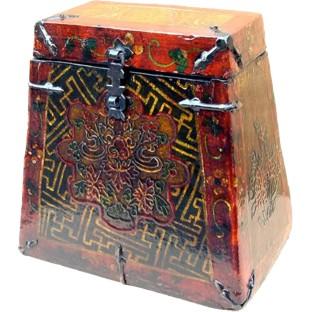 Tibet Style Chinese Antique Tea Box