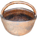 Chinese Antique Carrying Basket