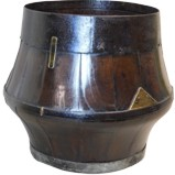 Antique Wood Barrel