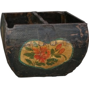Original Painted Rice Measure