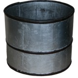 Silver Leaf Chinese Wood Bucket
