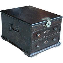 Original Wood Painted Jewellery Box
