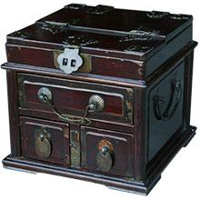 Original Wood Carved Jewellery Box