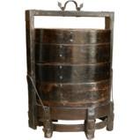 Original Wood Banquet Food Storage Container