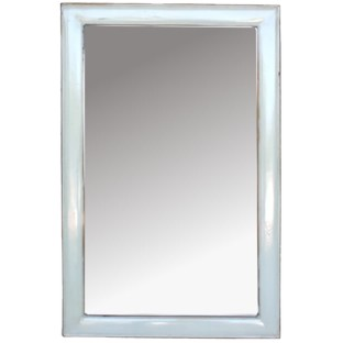 White Rectangular Mirror - Vertical