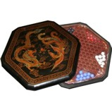 Chinese Checkers Dragon Phoenix Black