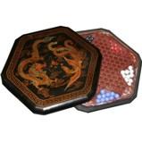 Chinese Checkers Dragon & Phoenix Black