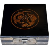 Fengshui Compass in Black Painted Box